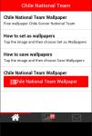 Chile Soccer Team Wallpaper screenshot 2/5