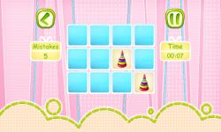 Kids Memory Fun screenshot 2/5