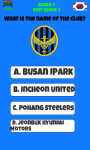 Korea Football Logo Quiz screenshot 4/5
