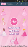 Princess Memory Match screenshot 1/4