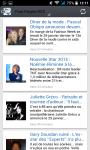 Gossip French RSS presse people screenshot 2/3
