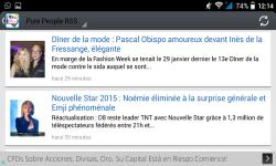 Gossip French RSS presse people screenshot 3/3
