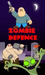 Zombie Defense - 30 days survival screenshot 1/5