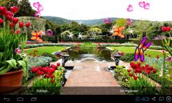 3D Garden Live Wallpaper screenshot 4/5