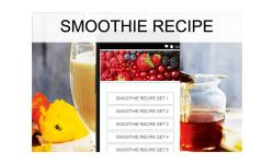 Smoothie recipes food screenshot 1/3