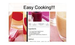 Smoothie recipes food screenshot 3/3