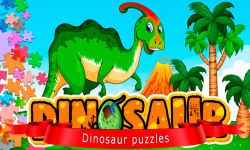 Puzzles with dinosaurs screenshot 1/6