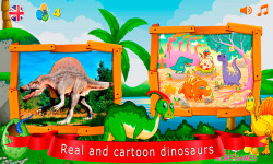 Puzzles with dinosaurs screenshot 2/6