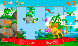 Puzzles with dinosaurs screenshot 3/6