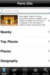 Paris 2Go screenshot 1/1