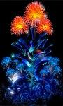 Neon Flowerr Live Wallpaper screenshot 3/6