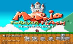 Mario Forever Flash screenshot 1/6