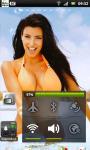 Kim Kardashian 1 Live Wallpaper SMM screenshot 1/3