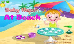 Baby Hazel At Beach screenshot 1/6