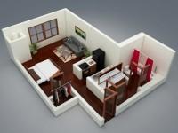 Studio Apartment Floor Plans screenshot 4/6