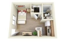 Studio Apartment Floor Plans screenshot 6/6