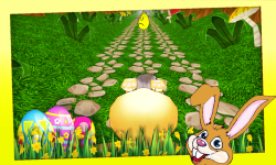 Easter Bunny Run 3D screenshot 3/5