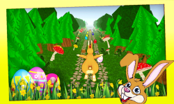 Easter Bunny Run 3D screenshot 4/5