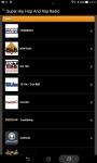 Super Hip Hop And Rap Radio screenshot 1/5