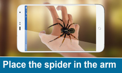 Real Spider On Hand FREE screenshot 2/3