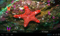 3D Starfish Live Wallpaper screenshot 4/5