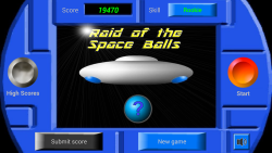 Raid of the Space Balls screenshot 1/2