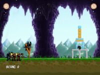 Cave Angry Knights screenshot 3/6