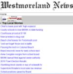 Westmoreland News screenshot 1/1