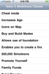 Cheats for Sims 3: Ambitions screenshot 1/1