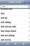 Audio Collins Mini Gem Vietnamese-English & English-Vietnamese Dictionary screenshot 1/1