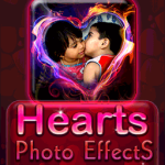 Hearts Photo Effects screenshot 1/3