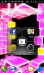 ELECTRONIC NEON DISCO CUBE LWP screenshot 3/3