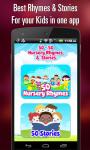 50 Nursery Rhymes and 50 Stories screenshot 2/6