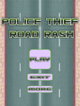 Police Thief Road Rash - 2 Cars screenshot 1/3