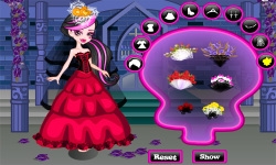 Monster High Draculaura Wedding screenshot 2/3