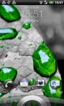 Green Drops LWP screenshot 2/2