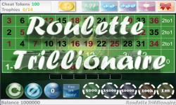 Roulette Trillionaire Free screenshot 1/5