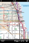 Chicago Maps - Download Transit Train Maps and Tourist Guides. screenshot 1/1