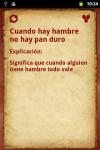Refranes Españoles screenshot 1/2