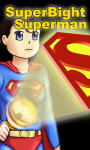 Superman BrightFree Flashlight free screenshot 2/5