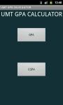 UMT GPA/CGPA CALCULATOR screenshot 3/6