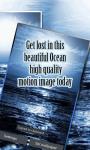 Blue Ocean Waves Live Wallpaper screenshot 2/3