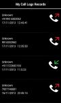 Call Recorder Trigma   screenshot 2/2