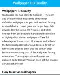 Wallpaper HD Quality screenshot 1/3