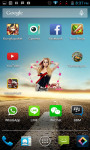 Avril Lavigne Clock Widget screenshot 1/4