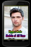 Biggest Male Models of All Time screenshot 1/3