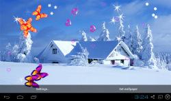 3D Winter Snow Live Wallpapers screenshot 1/4