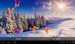 3D Winter Snow Live Wallpapers screenshot 2/4