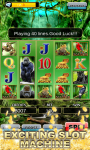 Slot Machine : Wild Gorilla screenshot 1/5