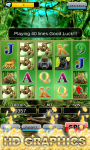Slot Machine : Wild Gorilla screenshot 2/5